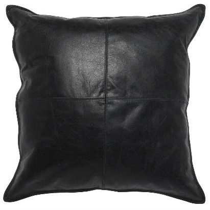 Leather Dexter Onxy 22x22