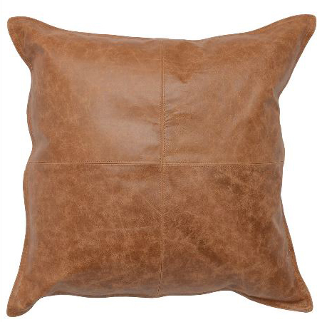 Leather Dumont Chesnut 22x22